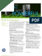 HP Z210 Workstations - Especif