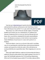 Black Hat Biotech beyond The Law (Black Hat Biotech part 2)