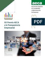 AECA Premio Transparencia Empresarial