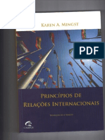 Livro - Princípios de R.I. - Karen Mingst - Cap. 1 -