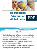 Liberalization Privatization Globalization