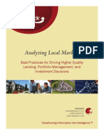 DataQuick's Guide to Best Practices in Analyzing Local Real Estate Markets