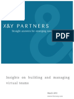 Insights on building and managing virtual teams