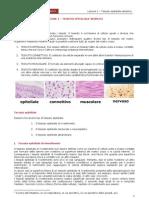 Lezione 1- Tessuto Epiteliale Semplice