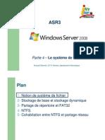 Partie 4 – Le système de fichier