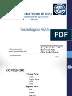 Tecnologías WAN(P)