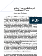 Nestingen Distinguishing Law & Gospel