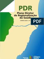 PDR PlanoDiretordeRegionalizacao ES 2011