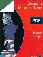 Lepage, Henri - Demain Le Capitalisme