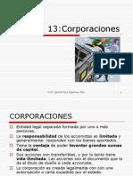 Capitulo 13:Corporaciones