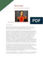 Carta sobre Bolívar y el Perú