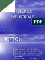 Deseurile industriale