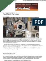 Tool Steel Carbides