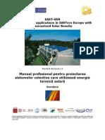 EAST GSR D6 Professional Handbook ROMANIA RO