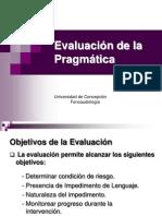 Evaluacion de La Pragmatica