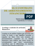 Arrendamiento Financiero Tema 13
