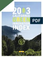 2013 Green Innovation Index