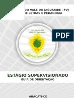 MANUAL ESTÁGIO SUPERVISIONADO LETRAS