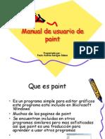 Manual de Usuario de Paint