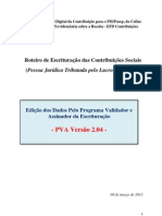 Manual EDF Contribuicoes PVA 204 PJ LucroPresumido