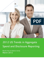 Aggregate Spend Trends Disclosure Reporting Whitepaper 2012