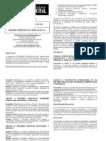 Programa Procesos Psicológicos 2013