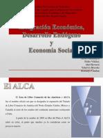13-02-14 Integración Económica, Desarrollo Endógeno y Economía Social