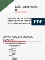 OSTEOLOGÍA EXTREMIDAD SUPERIOR