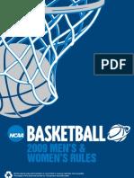Basketball Rules 2008-09 NCAA
