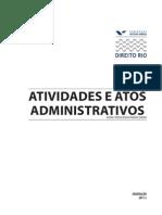 Atividades e Atos Administrativos FGV