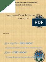 Interpretacion ISO 9001 2008