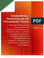 Costumbres y Tradiciones de Los Proveedores Chinos