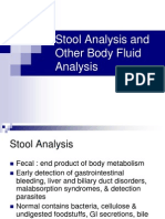 Stool Analysis and Other Body Fluid Analysis