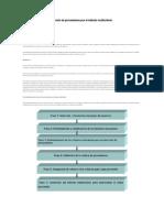Procedimiento para la selección de proveedores por el método multicriterio