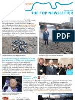 TDP Newsletter Spring 2013