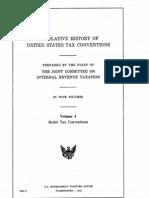 Legislative History of United States Tax Conventions Vol. 4