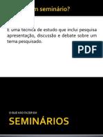 Dicas_SEMINÁRIOS