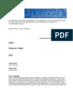 IN1215 - Exporter Guide 2011