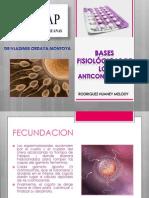 Bases fisiológicas de los anticonceptivos