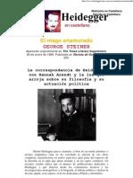George Steiner - El Mago Enamorado 1999 Heidegger en Castellano