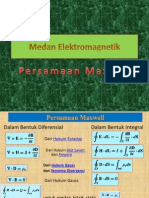Medan Elektromagnetik Pers Maxwell