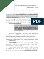 MODELO DE CITAÇÃO DE AUTORES EM FUNDAMENTAÇÃO TEÓRICA-CAPÍTULO