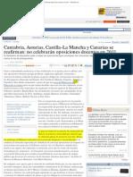 Cantabria, Asturias, Castilla-La Mancha y Canarias se reafirman_ no celebrar.pdf