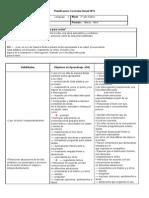 Planificación Curricular Lenguaje PILI