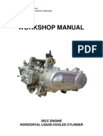 50cc Liquid Cooled Motor Manual
