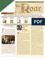 The ROAR 2013 1st Quarter Newsletter