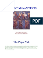 Ancient Mayan Texts