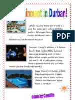 Durban Entertainment