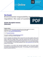 environmental responsibility and business regulation lsero