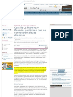 Castilla-La Mancha y Canarias confirman que no convocarán plazas docentes _ .pdf